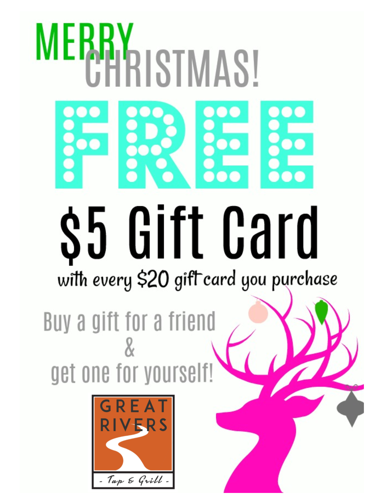 Gift Card promotions, restaurants in alton il