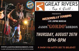 Jason Gordo playing in Alton IL
